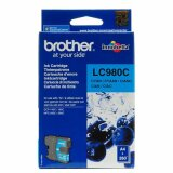 Original Ink Cartridge Brother LC-980 C (LC980C) (Cyan) for Brother DCP-375 CW