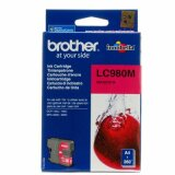 Original Ink Cartridge Brother LC-980 M (LC980M) (Magenta) for Brother MFC-295 CN