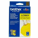 Original Ink Cartridge Brother LC-980 Y (LC980Y) (Yellow) for Brother DCP-375 CW