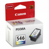 Original Ink Cartridge Canon CL-546 (8289B001) (Color) for Canon Pixma MG3052
