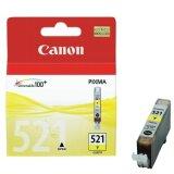 Original Ink Cartridge Canon CLI-521 Y (2936B001) (Yellow)
