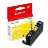 Original Ink Cartridge Canon CLI-526 Y (4543B001) (Yellow) for Canon Pixma IP4950