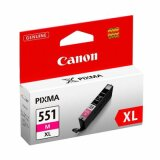 Original Ink Cartridge Canon CLI-551 M XL (6445B001) (Magenta)