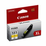 Original Ink Cartridge Canon CLI-551 Y XL (6446B001) (Yellow)