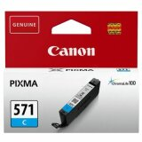 Original Ink Cartridge Canon CLI-571 C (0386C001) (Cyan)