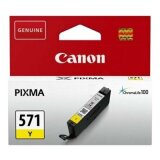 Original Ink Cartridge Canon CLI-571 Y (0388C001) (Yellow)