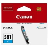 Original Ink Cartridge Canon CLI-581 C (2103C001) (Cyan)