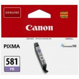 Original Ink Cartridge Canon CLI-581 PB (2107C001) (Blue Photo)