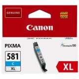Original Ink Cartridge Canon CLI-581 XL C (2049C001) (Cyan)