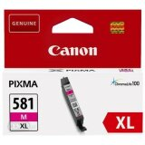 Original Ink Cartridge Canon CLI-581 XL M (2050C001) (Magenta)