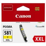 Original Ink Cartridge Canon CLI-581 XXL Y (1997C001) (Yellow)