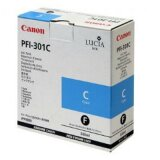 Original Ink Cartridge Canon PFI-301C (1487B001) (Cyan)