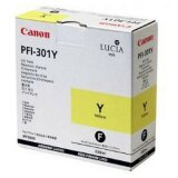 Original Ink Cartridge Canon PFI-301Y (1489B001) (Yellow)