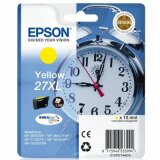 Original Ink Cartridge Epson 27xl (C13T271440) (Yellow) for Epson WorkForce WF-3640 DTWF
