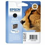 Original Ink Cartridge Epson T0711 (C13T07114010) (Black)