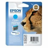 Original Ink Cartridge Epson T0712 (C13T07124010) (Cyan)