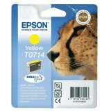 Original Ink Cartridge Epson T0714 (C13T07144010) (Yellow)