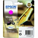 Original Ink Cartridge Epson T1623 (C13T16234010) (Magenta)