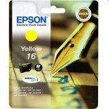 Original Ink Cartridge Epson T1624 (C13T16244010) (Yellow)