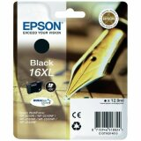 Original Ink Cartridge Epson T1631 (16XL) (C13T16314010) (Black)