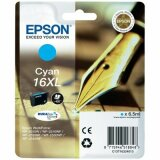 Original Ink Cartridge Epson T1632 (16XL) (C13T16324010) (Cyan)