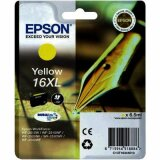 Original Ink Cartridge Epson T1634 (16XL) (C13T16344010) (Yellow)