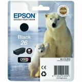 Original Ink Cartridge Epson T2601 (C13T26014010) (Black)