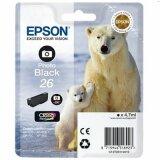 Original Ink Cartridge Epson T2611 (C13T26114010) (Black Photo)