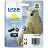 Original Ink Cartridge Epson T2614 (C13T26144010) (Yellow)