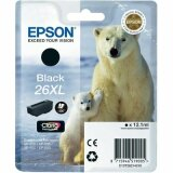 Original Ink Cartridge Epson T2621 (C13T26214010) (Black)