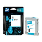Original Ink Cartridge HP 11 (C4836A) (Cyan) for HP Color Printer cp1700 PS