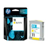 Original Ink Cartridge HP 11 (C4838A) (Yellow) for HP Color Printer cp1700 PS