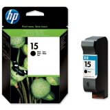 Original Ink Cartridge HP 15 (C6615DE) (Black) for HP Deskjet 842 C