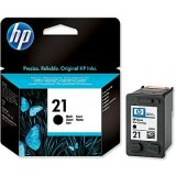 Original Ink Cartridge HP 21 (C9351AE) (Black) for HP PSC 1410 XI