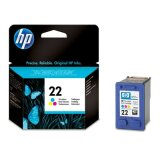 Original Ink Cartridge HP 22 (C9352AE) (Color) for HP Deskjet F2187