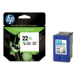 Original Ink Cartridge HP 22 XL (C9352CE) (Color) for HP Deskjet 3938