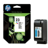 Original Ink Cartridge HP 23 (C1823DE) (Color) for HP Officejet Pro 1170 C