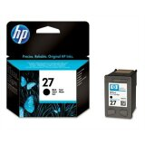 Original Ink Cartridge HP 27 (C8727AE) (Black) for HP Officejet 5605