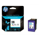 Original Ink Cartridge HP 28 (C8728AE) (Color) for HP Deskjet 3743