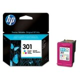 Original Ink Cartridge HP 301 (CH562EE) (Color) for HP Deskjet 3052A J611e