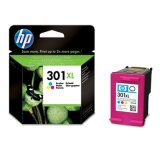 Original Ink Cartridge HP 301 XL (CH564EE) (Color) for HP Deskjet 3052A J611e