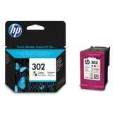 Original Ink Cartridge HP 302 (F6U65AE) (Color) for HP OfficeJet 3832