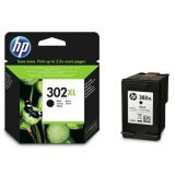 Original Ink Cartridge HP 302 XL (F6U68AE) (Black) for HP OfficeJet 3832