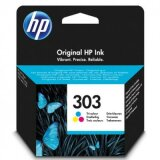Original Ink Cartridge HP 303 (T6N01AE) (Color) for HP ENVY Photo 7134