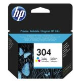 Original Ink Cartridge HP 304 (N9K05AE) (Color) for HP DeskJet 3735 All-in-One