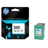 Original Ink Cartridge HP 343 (C8766EE) (Color) for HP Photosmart 2605