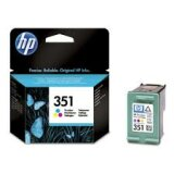 Original Ink Cartridge HP 351 (CB337EE) (Color) for HP Photosmart C4385