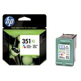 Original Ink Cartridge HP 351 XL (CB338EE) (Color) for HP Photosmart C4300