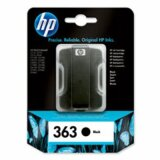 Original Ink Cartridge HP 363 (C8721E) (Black) for HP Photosmart 3213