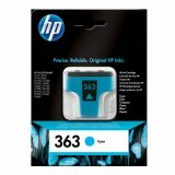 Original Ink Cartridge HP 363 (C8771E) (Cyan) for HP Photosmart D7463